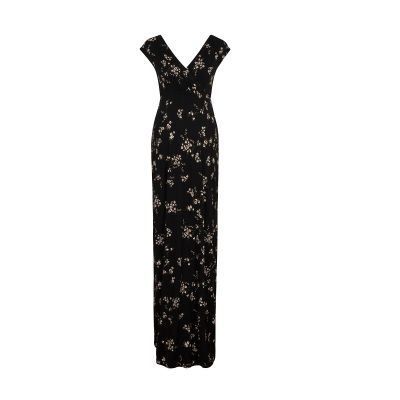 فستان ألينا الأسود