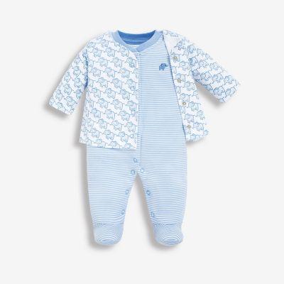 ملابس إيلا من قطعتين- أزرق
