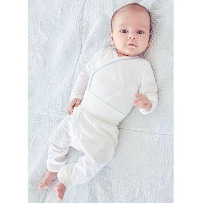 ملابس كيمونو لحديثي الولادة- أزرق
