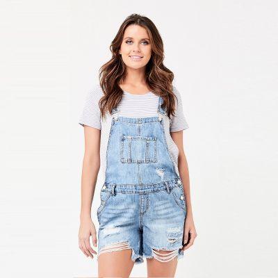 أفرهول جينز قصير