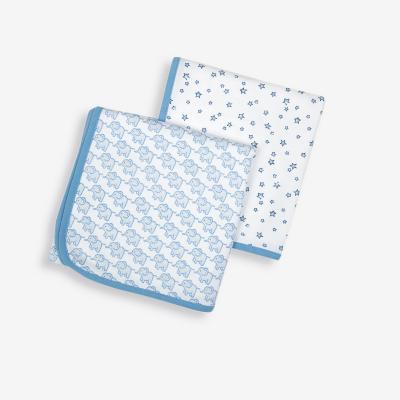 قماط حرام -قطعتين لون أزرق