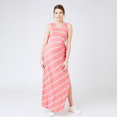 فستان سايد تاي- المرجاني