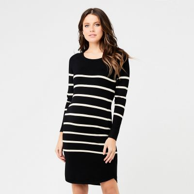 فستان فالاري توتك الأسود