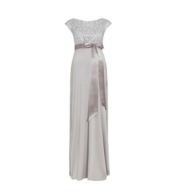 فستان ميا الفضي