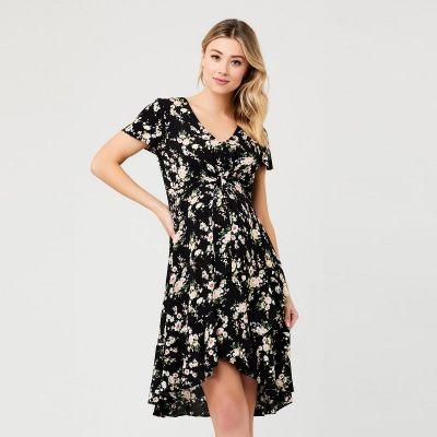 فستان إلورا تاي فرونت