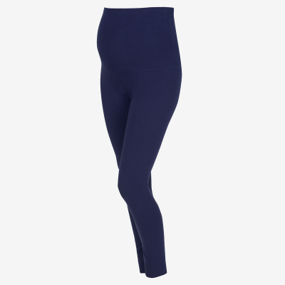 Navy Cotton Rich Leggings
