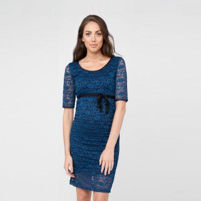 فستان بارسلي الأزرق