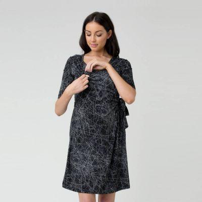 فستان إيتيك الأسود