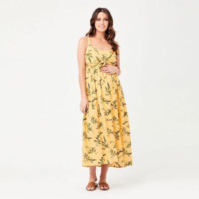 فستان أودرية الأصفر