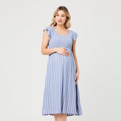 فستان صوفية شيرد الأزرق