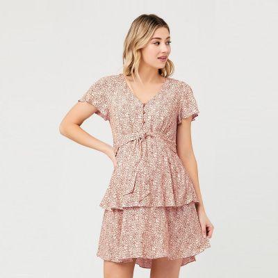فستان لولو الوردي