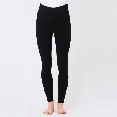 Black Organic Essential Leggings