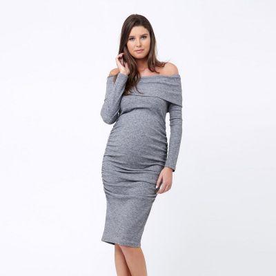 فستان بوني الرمادي