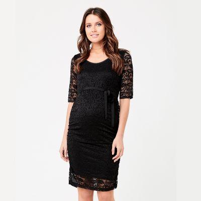 فستان بارسلي الأسود