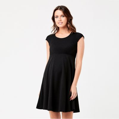 فستان تكستشير الأسود