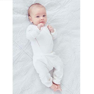 ملابس كيمونو لحديثي الولادة-زهري